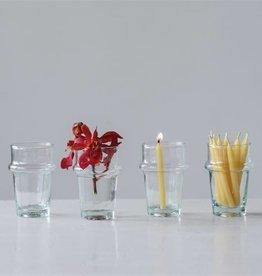 Fleurish Home 4 oz. Hand- Blown Shot Glass/Vase