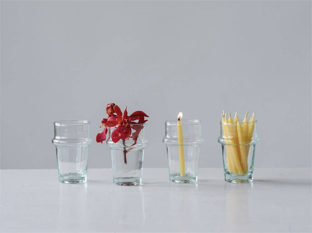 Fleurish Home 4 oz. Hand-Blown Shot Glass/Vase