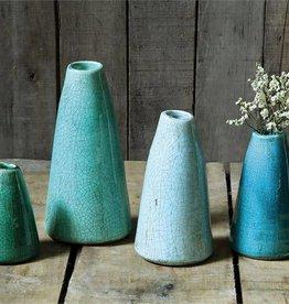 Fleurish Home SM Aqua Terra-cotta Vase
