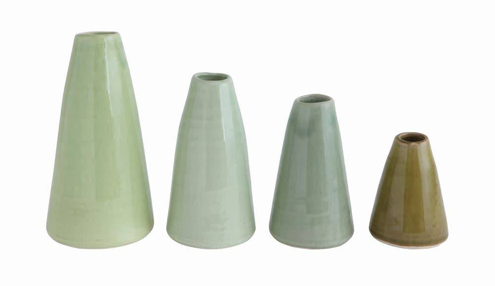 Fleurish Home LG Mint Terra-cotta Vase