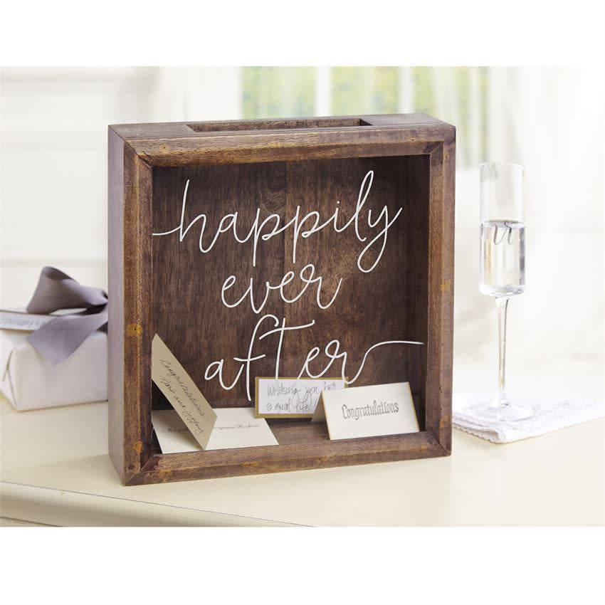 Mudpie HAPPILY EVER AFTER KEEPSAKEBOX