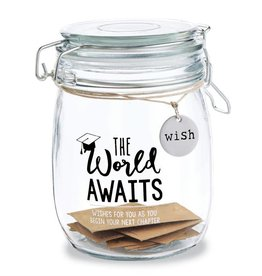Mudpie GRADUATION SENTIMENT JAR