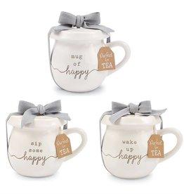 Mudpie SIP SOME HAPPY TEA MUG