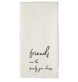 Mudpie FRIENDS YOU CHOOSE TOWEL