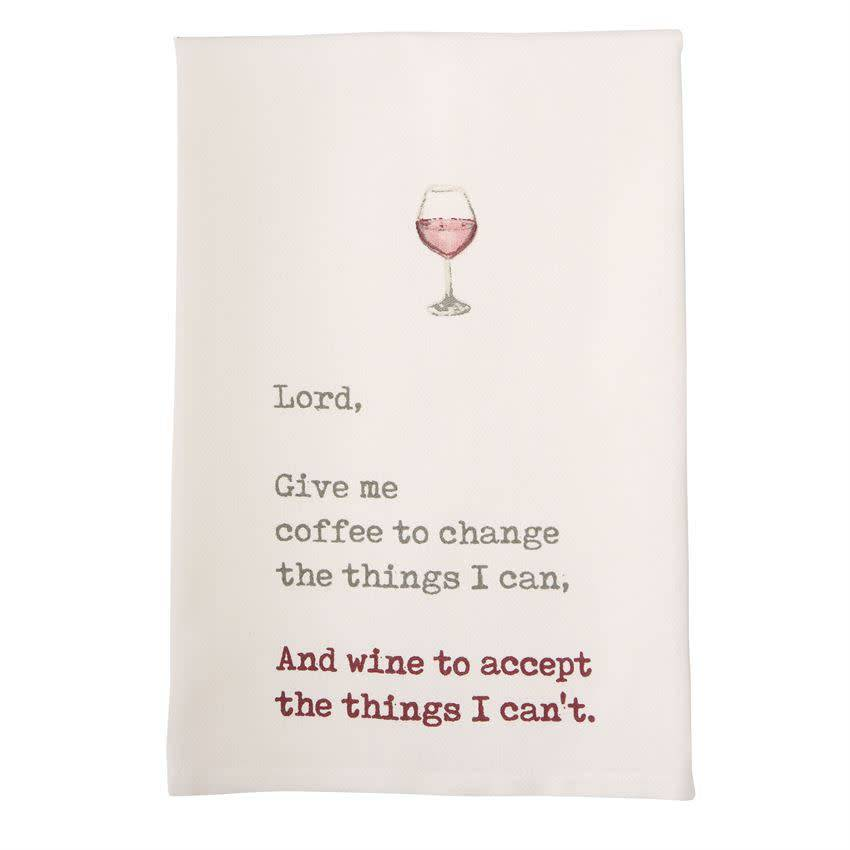Mudpie Lord Wine Tea Towel