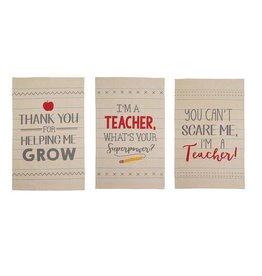Mudpie I'M A TEACHER TOWEL