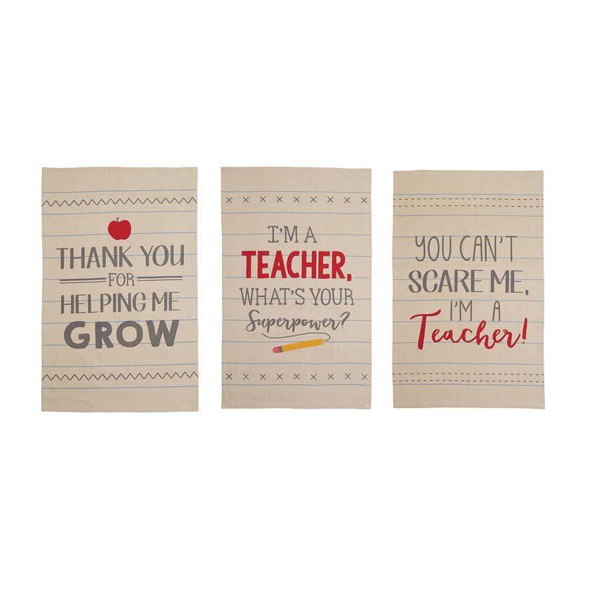 Mudpie I'M A TEACHER TOWEL