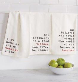 Mudpie VOICE TEACHER DISH TOWEL