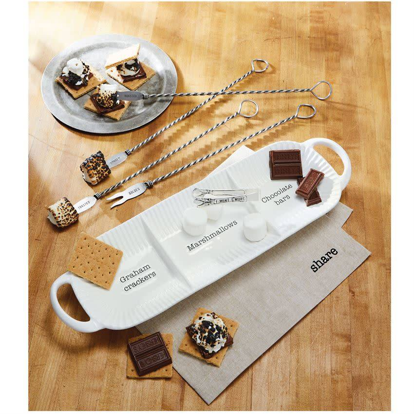 Mudpie S'MORE DIVIDED SERVING SET