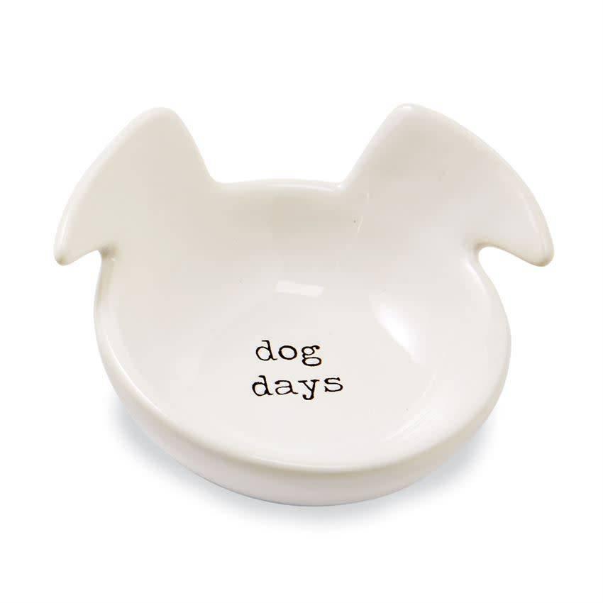 Mudpie DOG DAYS DOG TRINKET DISH
