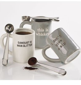 Mudpie DONT GIVE A SIP MUG SET