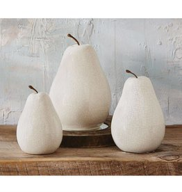 Mudpie LARGE CERAMIC PEAR