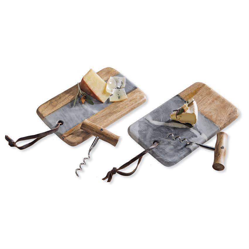 Mudpie POUR MINI CHEESE BOARD SET