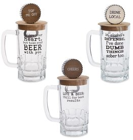 Mudpie FOLLOW BEER MUG SET