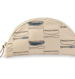 Mudpie BLUE CANOE COSMETIC BAG