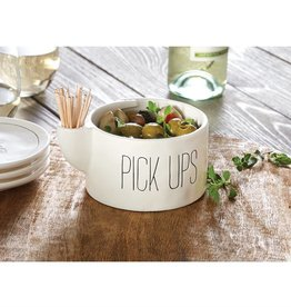 Mudpie PICK UPS TOOTHPICK BOWL SET