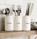 Mudpie CERAMIC UTENSIL HOLDER