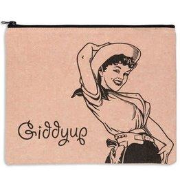 Fleurish Home Giddyup Pink Travel Bag