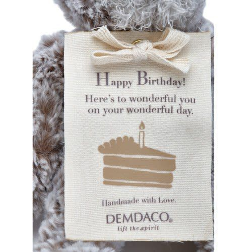 Fleurish Home Happy Birthday Mini Giving Bear *last chance
