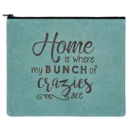 Fleurish Home Bunch of Crazies Travel Bag