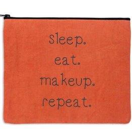 Fleurish Home Sleep Eat Makeup Repeat Travel Bag