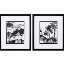 Fleurish Home Ink Wash Trees 16x14 (Choice of 2 Images)