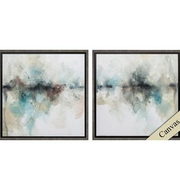 Fleurish Home Island Mist 22x22 (Choice of 2 Images)
