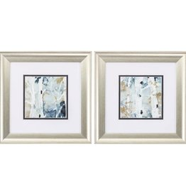 Fleurish Home Blue Watercolor 13x13 (Choice of 2 Images)