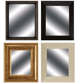 Fleurish Home Framed Mirror 13x11 (Choice of 4 Styles)