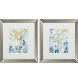 Fleurish Home Gilded Forest Detail 18x16 (Choice of 2 Images)