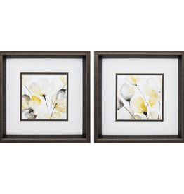 Fleurish Home Natural Abstract 12x12 (Choice of 2 Images)
