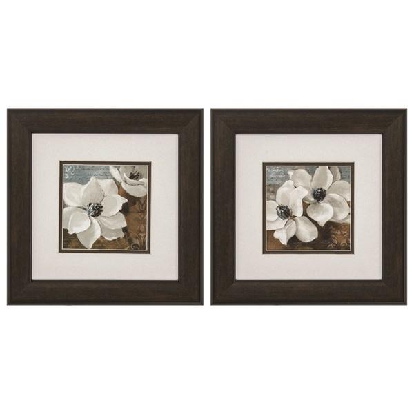 Fleurish Home Magnolias 13x13 (Choice of 2 Images)