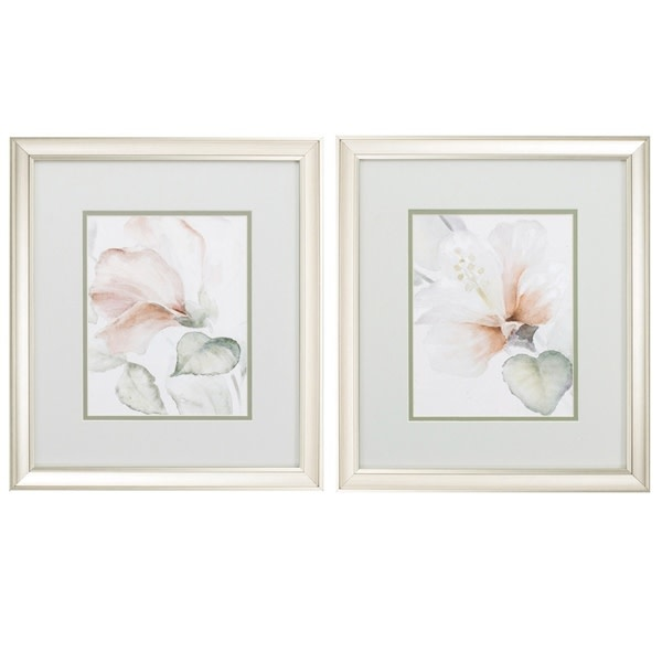 Fleurish Home Soft Flower 17x15 (Choice of 2 Images)