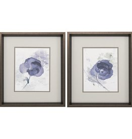 Fleurish Home Lavender Flower 17x15 (Choice of 2 Images)