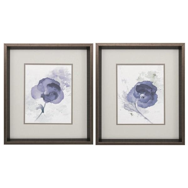 Fleurish Home Lavender Flower 17x15 (Choice of 2 Images)