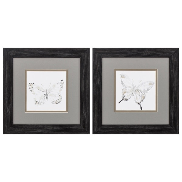 Fleurish Home Butterfly Impression 12x12 (Choice of 2 Styles)