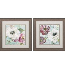 Fleurish Home Asbury Garden 19x19 (Choice of 2 Images)