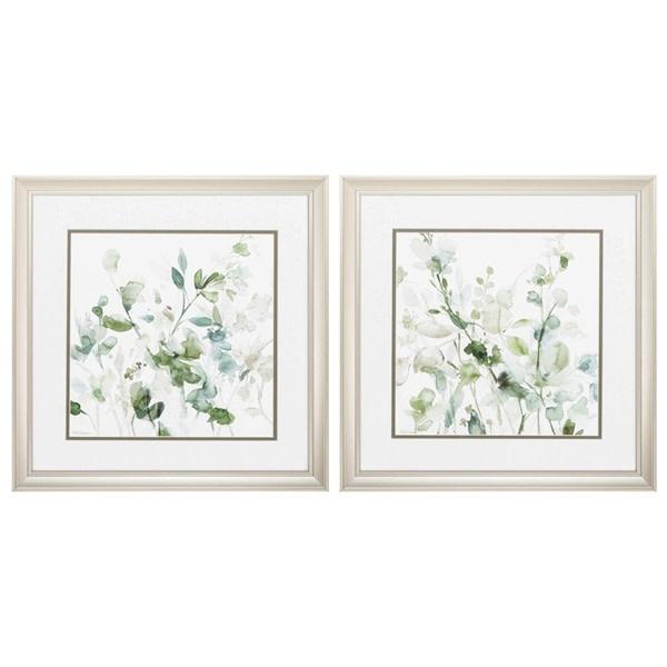 Fleurish Home Sage Garden 18x18 (Choice of 2 Images)