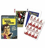 Fleurish Home Playing Cards Deck Art of Book Covers