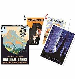 Piatnik Playing Cards Deck National Parks