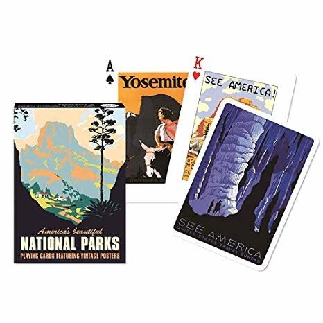 Fleurish Home Playing Cards Deck National Parks