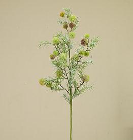 "Fleurish Home Summer Succulent Pick 35"""