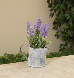 """Fleurish Home Lavender in Small Watering Can 8"""""""