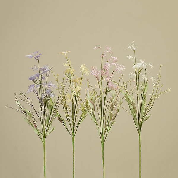 "Fleurish Home Wild Spring Flower Pick 22"" (4 asst)"