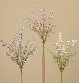 """Fleurish Home Daisy w Mixed Wild Flower Pick 22"""" (3 asst)"""