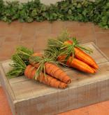 "Fleurish Home Sm Carrot Bundle 8"" (2 asst) Tied w Raffia"