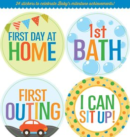 Fleurish Home Baby Milestone Stickers *last chance