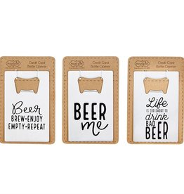 Mudpie CREDITCARD BOTTLE OPENERS (Choice of 6 Designs)