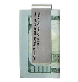 Mudpie MONEY CLIPS  (choice of 6 quotes)