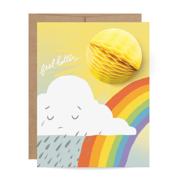 Fleurish Home Feel Better Sunshine Pop Up Card